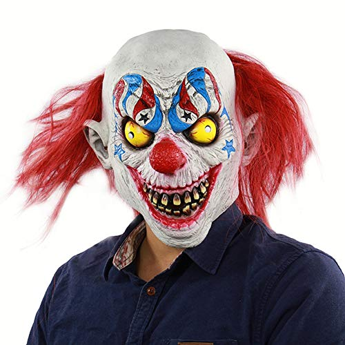 King Kostüm Pig - Halloween Mask Horror Zirkus Clown Latex Haunted House Dressing Kopfbedeckung