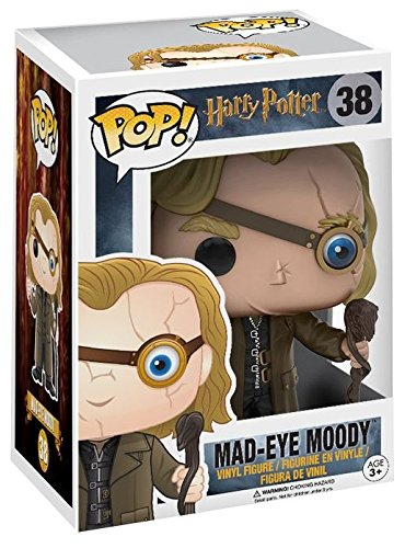 POP Harry Potter Mad Eye Moody Vinyl Figure