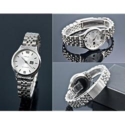 964.4790 Women's Radio Watch Junghans Mechanism Stainless Steel Casing and Bracelet