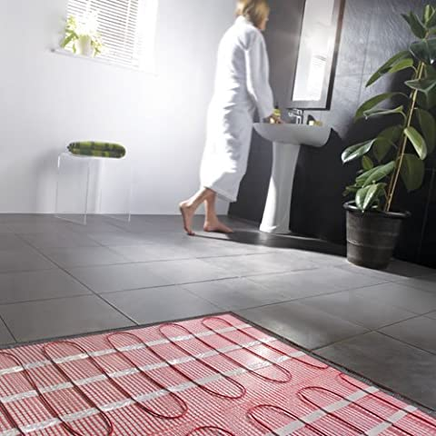 Electric Underfloor Heating Mat For Tiles | 2.5 Sqm | 150w per m2 | 25 Year Guarantee by Milano