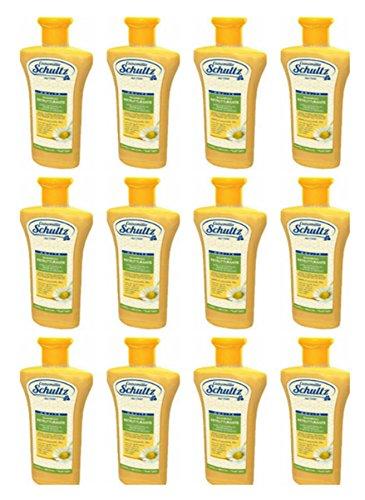 12 X Shampoo alla camomilla Schultz Ristrutturante per capelli biondi e chiari