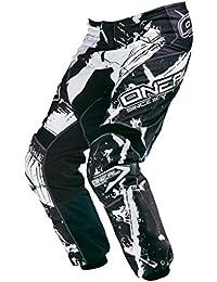 ONEAL Element MX Pantaloni Afterburner NERO MOTO CROSS ENDURO MOTO mountainbik