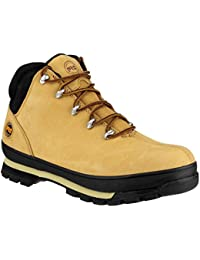 Timberland Men's Splitrock Pro Industrial Safety Boots Wheat M1044N