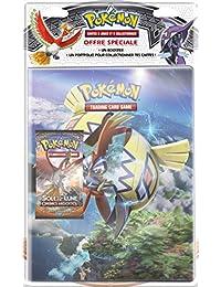 Asmodee–pob09sl03–Pack Cuadernos correspondencia, + Booster Pokémon sol & luna 3-