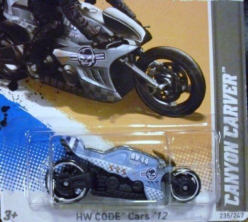 Preisvergleich Produktbild HOT WHEELS 2012 CROTCH ROCKET CANYON CARVER 235/247 DIE CAST MOTORCYCLE BIKE 10 OF 22 IN SERIES by Hot Wheels