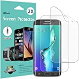 JETech Screen Protector for Samsung Galaxy S6 Edge Plus Full Coverage TPE HD Film, 2-Pack