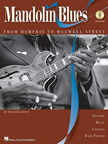 Mandolin blues - from memphis to maxwell street +CD