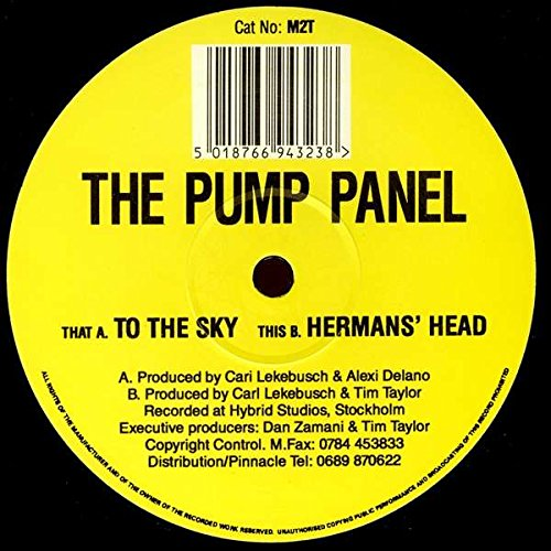 Pump Panel, The - To The Sky / Herman's Head - Missile Records -