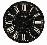 Preis am Stiel Wanduhr ''Westminister 1879'' | Küchenuhr | Schlafzimmer | Design | Wohnaccessoires | Vintage | Wohnzimmer | Oldschool | Kaminzimmer | Stylisch | Geschenkidee | Römische Zahlen