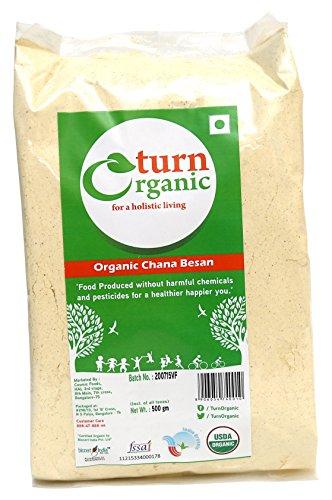 Turn Organic Chana Besan, 500g