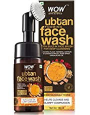 WOW Skin Science Ubtan Foaming Face Wash with BuiltIn Face