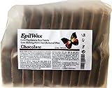 Epilwax S.A.S. - disco de Cera Caliente Reutilizable de depilar pelable Chocolate - bolsita de 1 kg cera caliente reutilizable, calidad extra profesional.