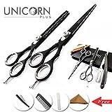 SONDERVERKAUF !! Professionelle Deep Black Hair Scissors 5.5