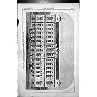 Stampi il Ministero Del Tesoro Anteriore William Kent Progettato Whitehall