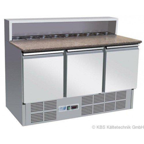 KBS Pizzakühltisch KBS 901 PT - mit 3 Türen