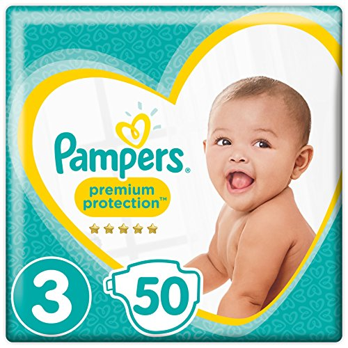 Preisvergleich Produktbild Pampers Premium Protection Gr.3 Midi 5-9kg Value Pack