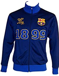 Veste zippée Barça - Collection officielle FC BARCELONE - Taille adulte Homme