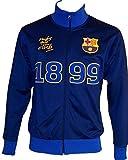 Trainingsjacke mit Reißverschluss Barça, offizielles Produkt von FC Barcelona, Erwachsenengröße, für Herren - XXL