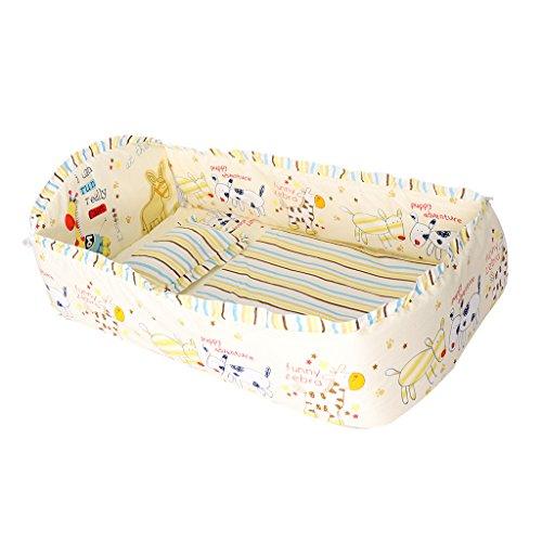 Sharplace Krippe Bettwäsche Set Bettdecke Bett Surround-Matratze - Laufendes Pony (Für Krippe Set Bett)