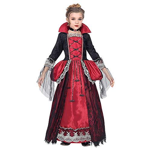 Kostüm Gothic Kind Vampir - Widmann Kinderkostüm Vampirin