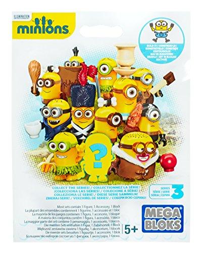 Mega Bloks - GRU - Mini Figura Minion Película Varios