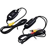 #10: amiciKart RCA Video Wireless Transmitter and Receiver for Car Reverse Camera System