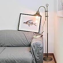 Premium Stehleuchte Aus Messing Antik Industrie Design E27 Bis 60W 230V Für  Wohnzimmer Lampe Leuchten Beleuchtung