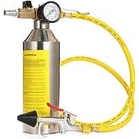 calibro adattatori Kit rilevatore di perdite con custodia PRIT2016 14 pezzi Sistema di raffreddamento del tester di pressione del radiatore universale