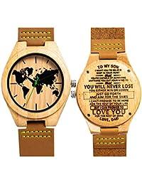 e55c7f0695bd Amazon.es  Bambu  Relojes
