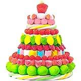 Amazon Tarta chuches golosinas cumpleaños comunion niña niño grande 30 x 30 cm colores