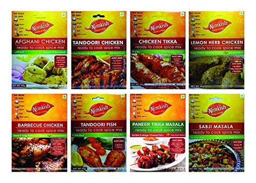 Tandoori/Grilled Spices Combo Pack of 8 - Trial Pack