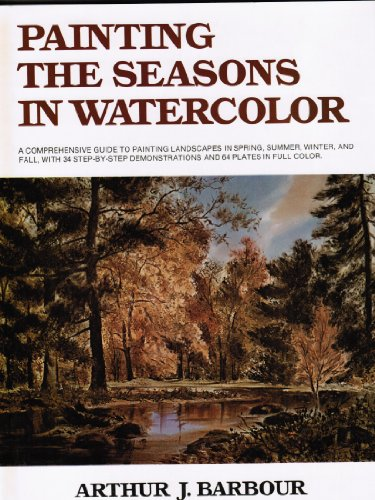 Painting the seasons in watercolor