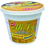 A-ONE Instant-Cup-Nudeln, Curry, 12er Pack (12 x 65 g Becher)