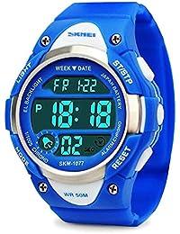 Los niños de los relojes digitales,niños deportes reloj con alarma al aire libre 50