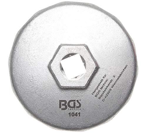 BGS 1041 | Ölfilterschlüssel | 14-kant | Ø 74 mm | für Audi, BMW, Mercedes-Benz, Opel, VW