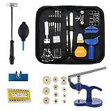 Kit Reparation Outil Montre Horloger Professionnel - STAGO 499 pcs Montre Outils Kit de Outils Horloger, Presse Boitier Montre