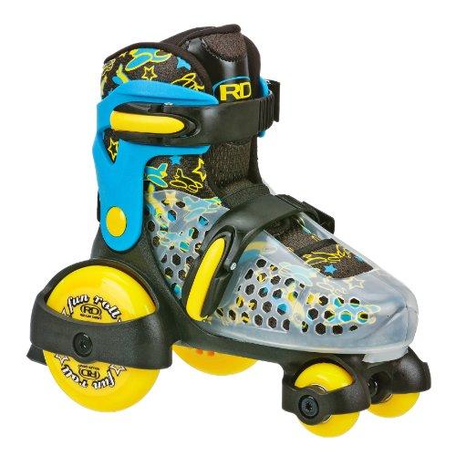 Roller Derby Boy divertido rollo ajustable para patines, Niños, 1359S,...
