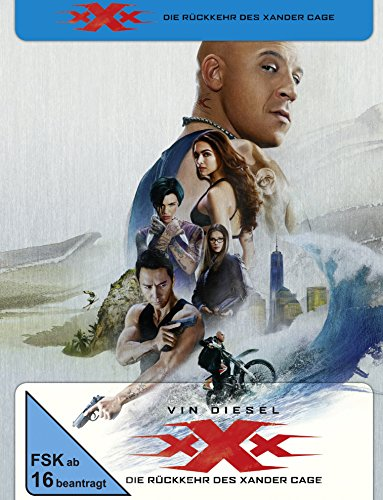 xXx: The Return of Xander Cage Steelbook [Blu-ray] [Limited Edition]