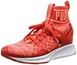 Puma Damen Ignite Evoknit Outdoor Fitnessschuhe, Rot (Poppy Red-Nrgy Peach-White), 39 EU