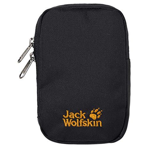 Jack Wolfskin Handyhülle Gadget Pouch M, Black, 17 x 12 x 4 cm, 0.001 Liter
