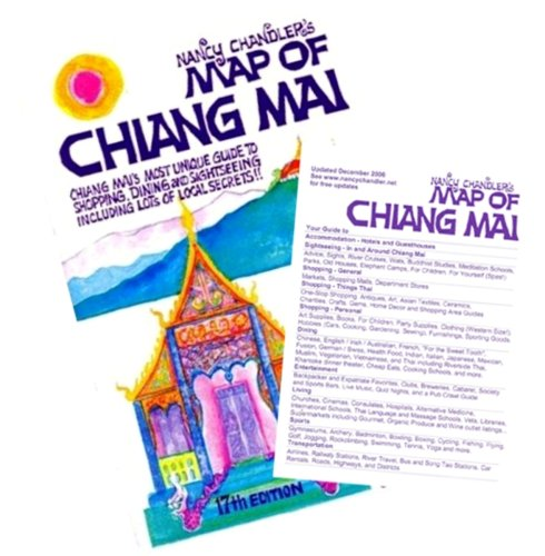 Nancy Chandler's Map of Chiang Mai por Nancy Chandler