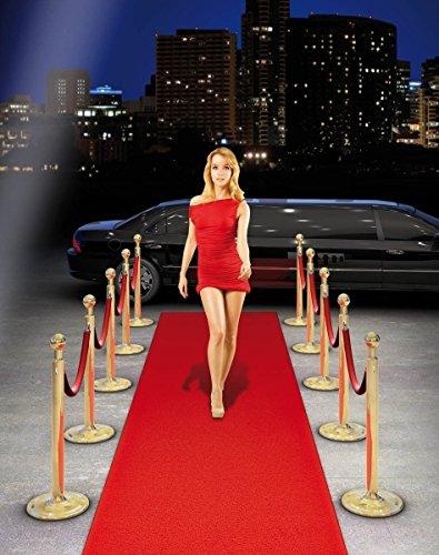 ausrollbarer * Roter Teppich * für Eine VIP-Party Oder die Eigene Holl (Roten Teppich)