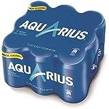 Aquarius - Bebida refrescante aromatizada limón, Lata 330 ml (pack de 9)