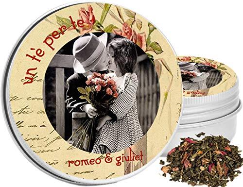 Romeo & giuliet - un tè per te - tè verde papaya e fragola