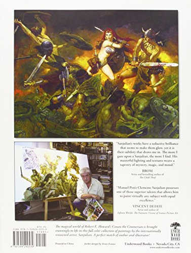 Sword's Edge: Paintings Inspired by the Works of Robert E. Howard: 48