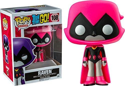Funko - Figurine Dc Comics - Teen Titans Go ! - Raven Pink Exclu Pop 10cm - 0889698114202