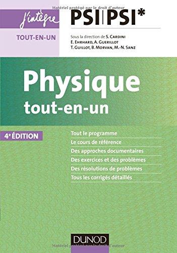 Physique tout-en-un PSI-PSI* - 4e éd. par Stéphane Cardini