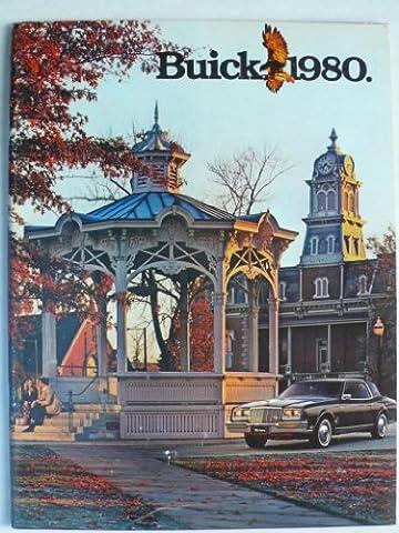 Prospekt / brochure - 1980 Buick (Book) mit Skyhawk, Skylark, Century, Regal, Riviera, Le Sabre, Electra, Estate Wagon - Original - sehr schön
