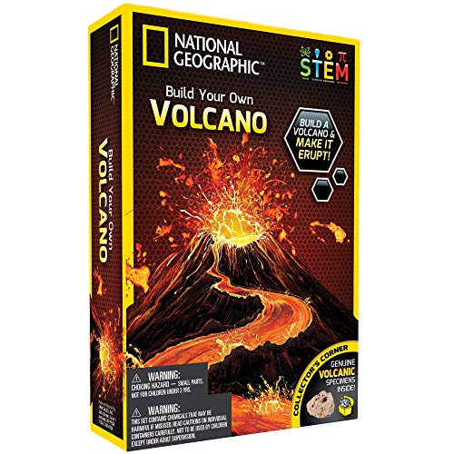 National Geographic Volcano Science Kit by