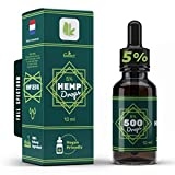 Best Hemp Oils - 5% Galact Hemp Seed oil Drops, 500mg, helps Review